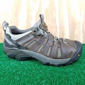 KEEN Utility Flint Low Leather Steel Toe Shoes …